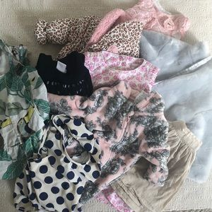 BUNDLE - Baby and Toddler girl- 7 items